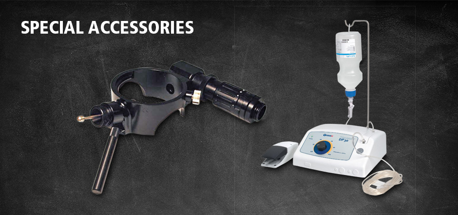 intros medical laser LASER ACCESSORIES Special accessories