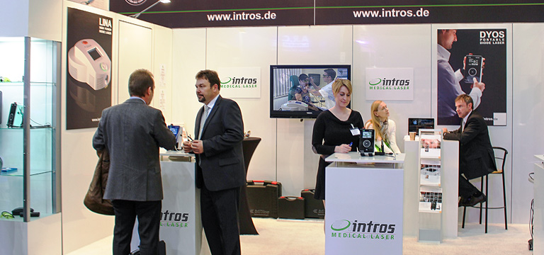 intros medical laser Messe